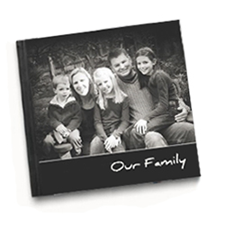 Day in a Family Photo Book