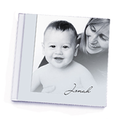 PhotoHand baby book example